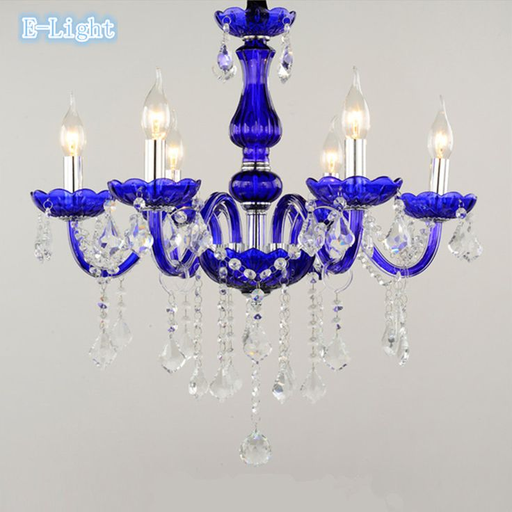The 14 best lustry images on pinterest crystal chandeliers cheap blue glass chandelier buy quality cristal chandeliers directly from china chandelier led suppliers 6 8 10 lights optional bluetransparent crystal aloadofball Choice Image