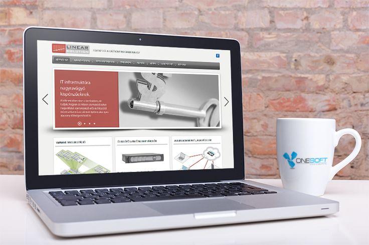 Linsol- weboldal készítés