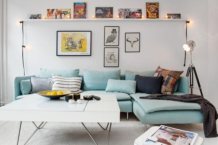 les 25 meilleures id es de la cat gorie tag re au dessus d 39 un canap sur pinterest d coration. Black Bedroom Furniture Sets. Home Design Ideas