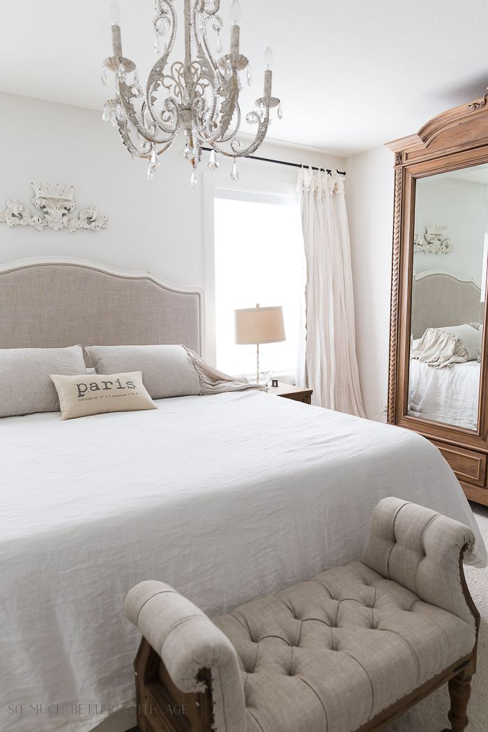 Review Of 3 Linen Pillow Shams For The Master Bedroom French Vintage So Much Better With Age