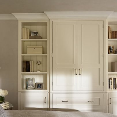 Master bedroom built in niche bedroom built in media for Bedroom cabinet ideas