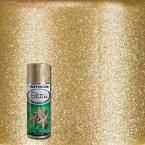 Rust-Oleum Specialty 10.25 oz. Gold Glitter Spray Paint 267689 at The Home Depot - Mobile