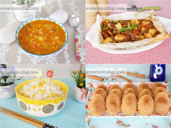 yemek menüsü | Kevserin Mutfagi | Pinterest | Yemek