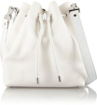 Proenza Schouler Bucket medium textured-leather shoulder bag #1010ParkPlace