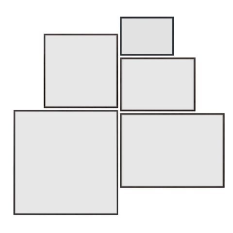 Illustrate – Simple minimalistic picture frame – by Lassen