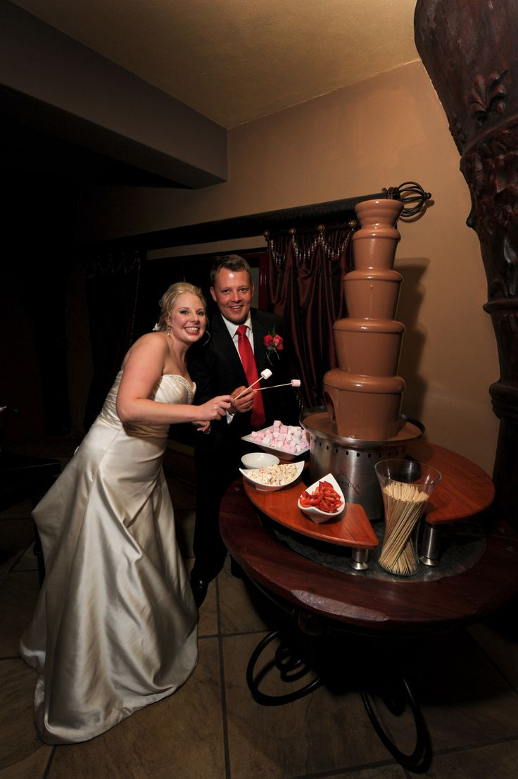 "Chocolate Fountain ""Cake"""