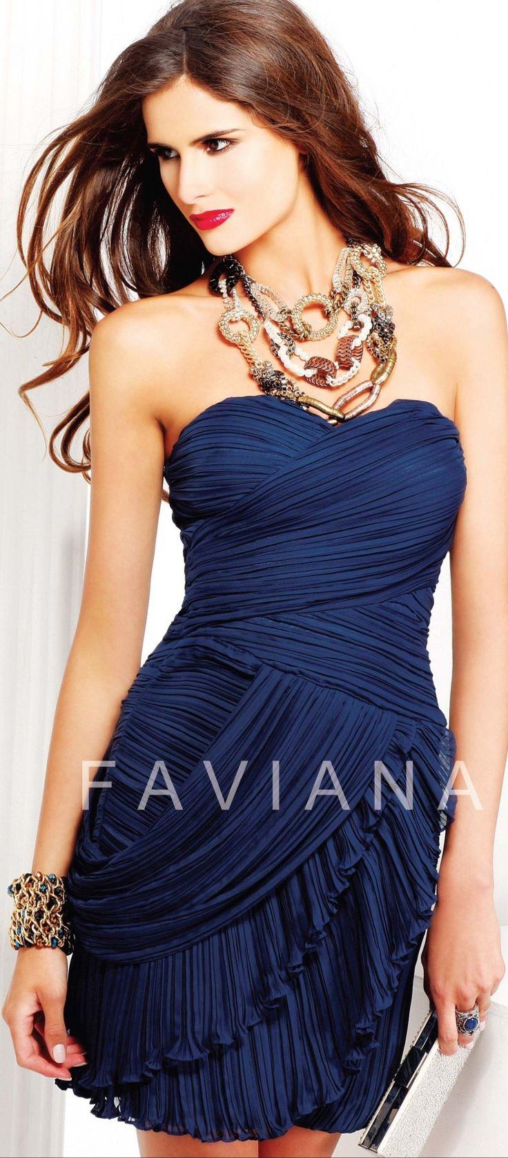Faviana Evening Dress