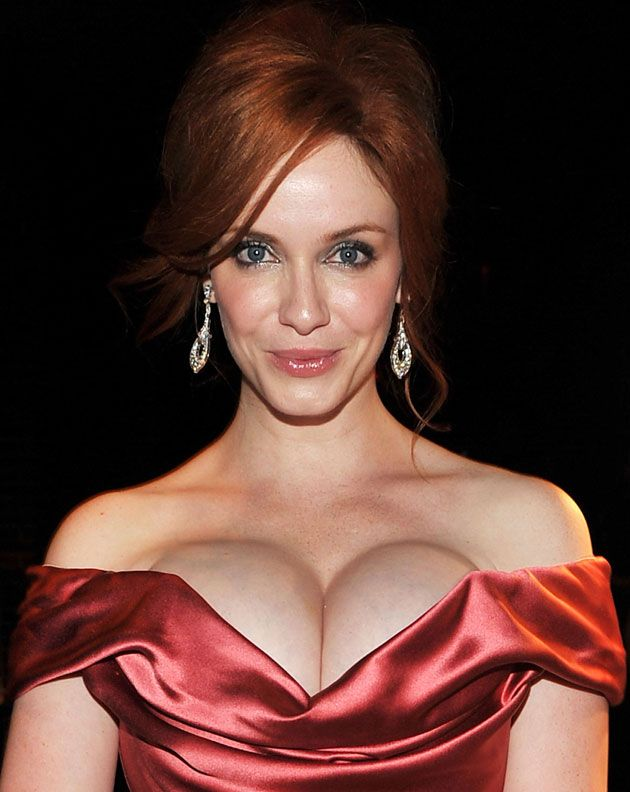 Christina Hendricks ...... In 2010, she was voted Best Looking American Woman by Esquire magazine