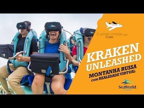 Testamos a Kraken Unleashed antes da inauguração, a montanha-russa do Sea World que é a primeira com experiência integrada de realidade virtual dos Estados Unidos.