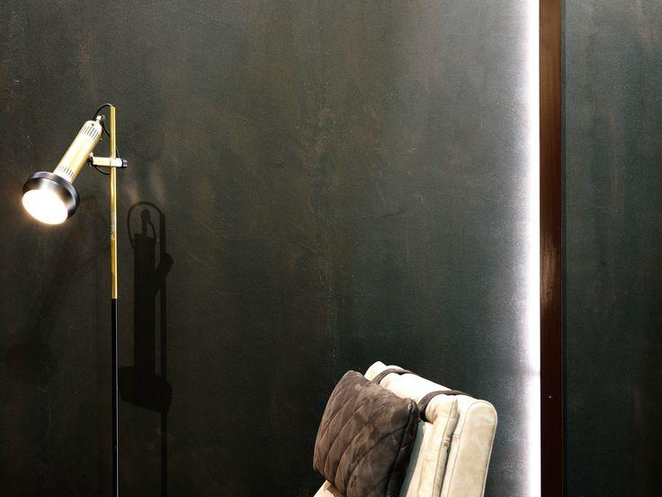 Decorative painting finish antico ferro by oikos