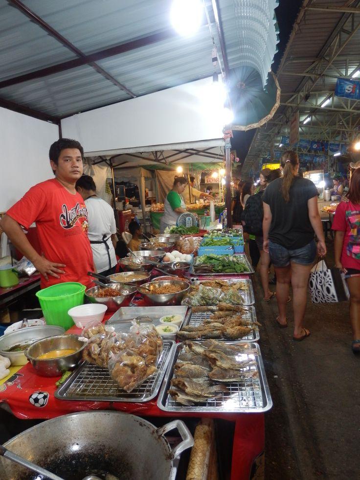 Night Market in Hua Hin, Thailand
