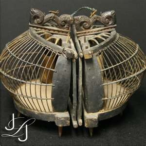 antique bird cage, love this one