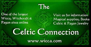 Wicca | Witchcraft, Wiccan and Pagan Index | Celtic Connection -  Wicca Information ie. current moon phase, astral projection, elements & magick, gemstones, candle magick etc