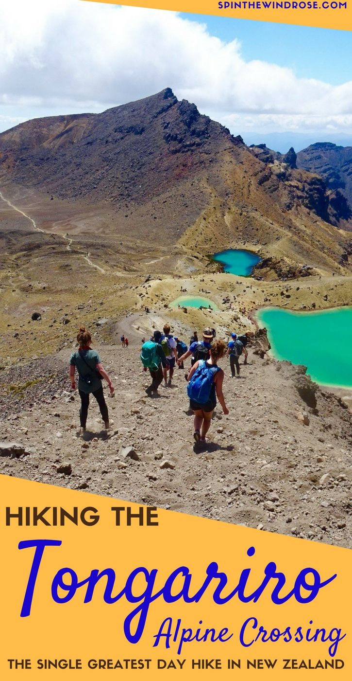 It's renowned as the single greatest day hike in New Zealand and is actually one of the best in the entire world. Here's how to experience the Tongariro Alpine Crossing - a must do on your trip to NZ!  NZ | New Zealand | Tongariro | Hiking | Tramping | Great Walks