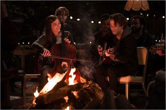 Si je reste - Chloë Grace Moretz (Mia Hall) et Jamie Blackley (Adam)
