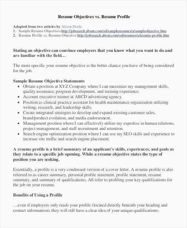 28 Graduate School Resume Objective 8211 Decide On A Resume