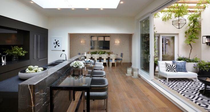 indoor outdoor kitchen designs | Indoor-outdoor kitchens