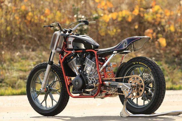 Harley-Davidson Street 750 Flat Tracker by Asteris9 #motorcycles #streettracker #motos | caferacerpasion.com