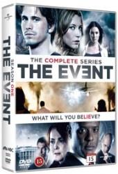Recension av The Event - The complete series med Jason Ritter, Sarah Roemer och Blair Underwood