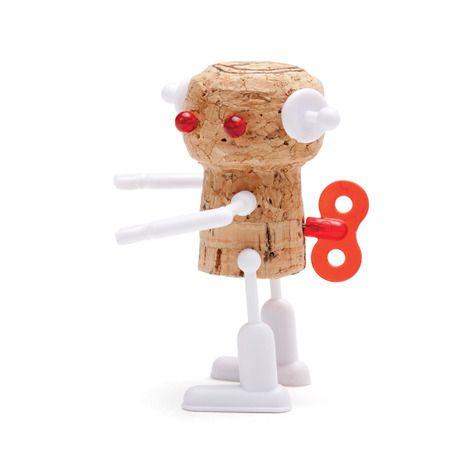 Cute robot corkers by Reddish Studio!