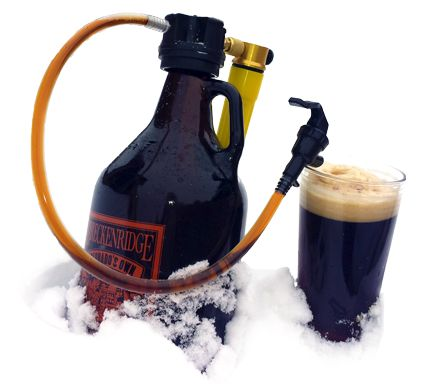 GrowlerTap with CO2. $45 Perfect gift for a craft beer lover!
