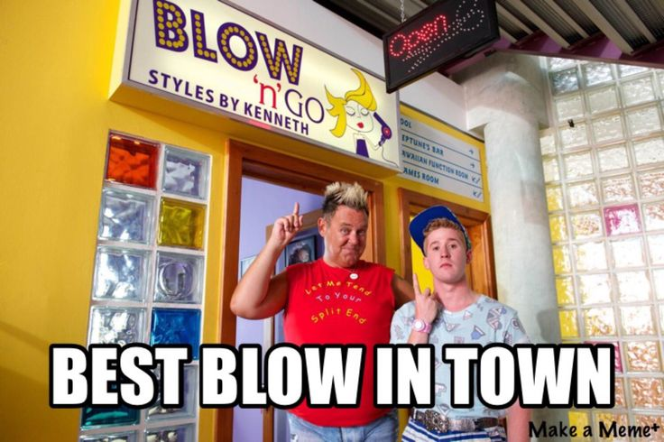Benidorm blow and go