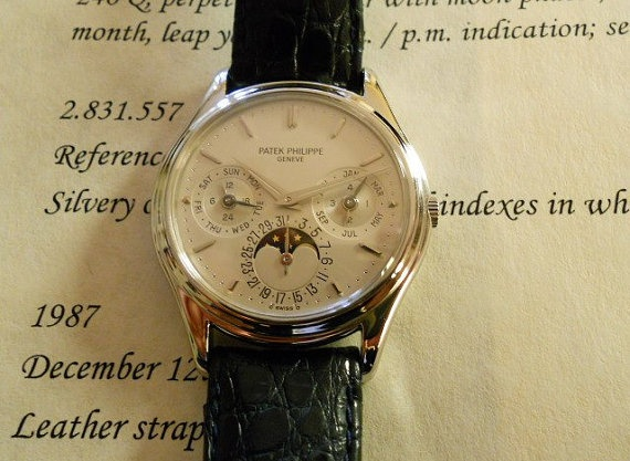 Patek Philippe 3940P Platinum watch $42000