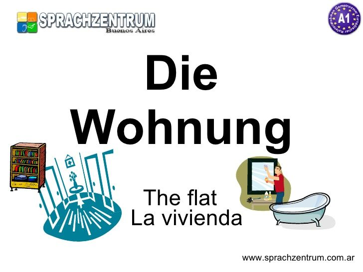 Die Wohnung - German vocabulary about flat