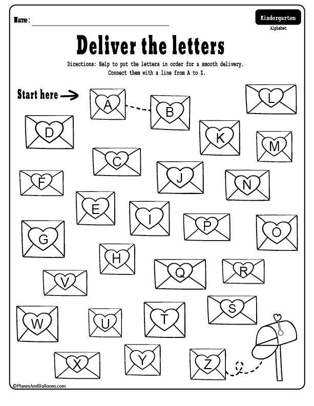 Free Printable Valentine's Day Kindergarten Worksheets Bundle Kindergarten  Valentines, Valentine Math Worksheet, Math Valentines