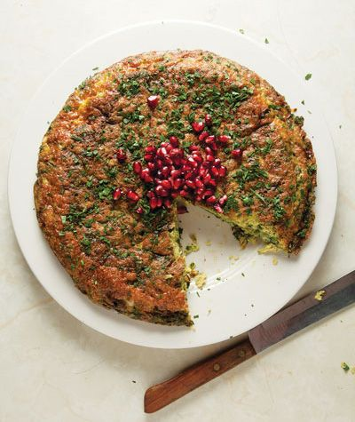 ... Kuku Sabzi, Herbs Frittata, Iranian Food Recipe, Iranian Kitchens