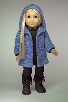 Where to find free knitting patterns for doll clothes that fit 18 inch dolls such as American Girl. Description from kodattern.net. I searched for this on bing.com/images