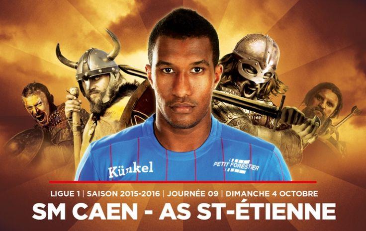 J9. Tout ce qu'il faut savoir sur... SM Caen - Saint-Etienne | Stade Malherbe Caen - billetterie SM Caen - match SMC