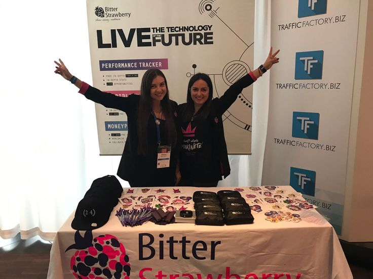 Our BitterStrawberry #bossgirls are waiting for you at WMA! Go talk to them about our great new tools!
