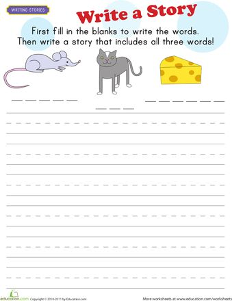 New Student Writing Activity First Grade