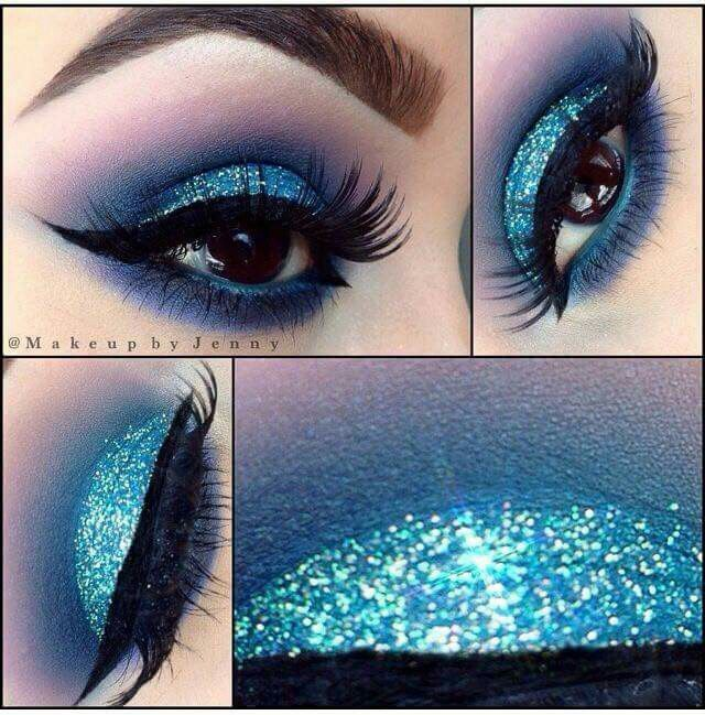 Image result for crazy rainbow pastel makeup