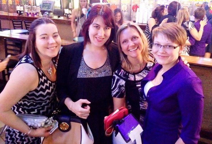 Last night on Bourbon Street, y'all. #rt14 #nola @Rachael Johns @Maisey Yates  @Dani Collins pic.twitter.com/8nLnY1t3Ci