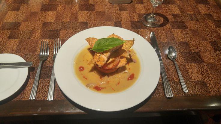 #OvertonHotel #PecanGrill #Lubbock #Dinner #Salmon #Yum