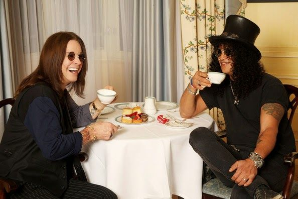 - Slash -  Ozzy Osbourne