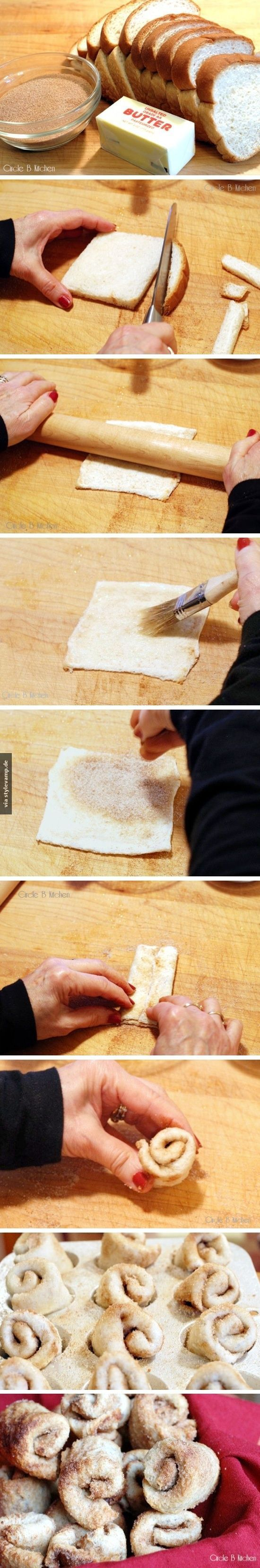 easy toast roll