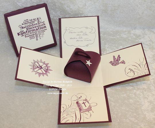 Magic Box zur Konfirmation/Kommunion/Firmung/Jugen von majascards auf DaWanda.com
