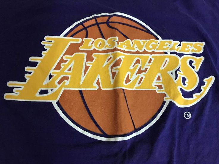 NWOT New Los Angeles Lakers T shirt boys Size XL Purple Starter T-SHIRT #Starter #LosAngelesLakers