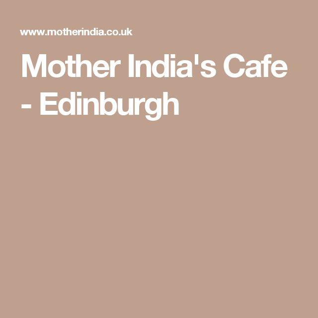 Mother India's Cafe - Edinburgh