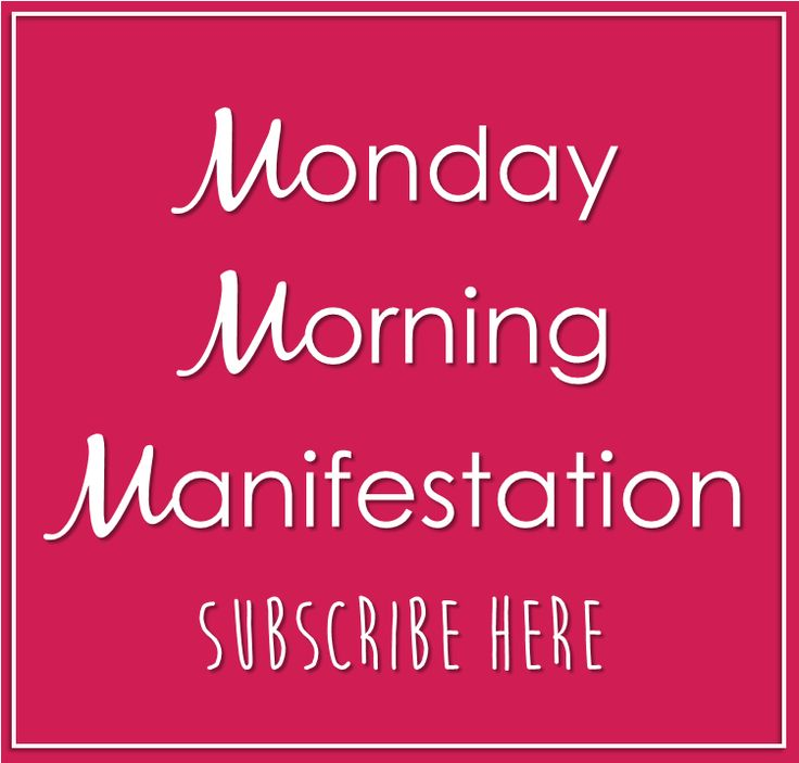 Start your week of with a little manifesting magic!  Click on the link to subscribe to Coach Bobbi's Monday Morning Manifestation - straight to your Inbox to give your week a kick start to success!  www.tinyurl.com/coachbobbisubscribe