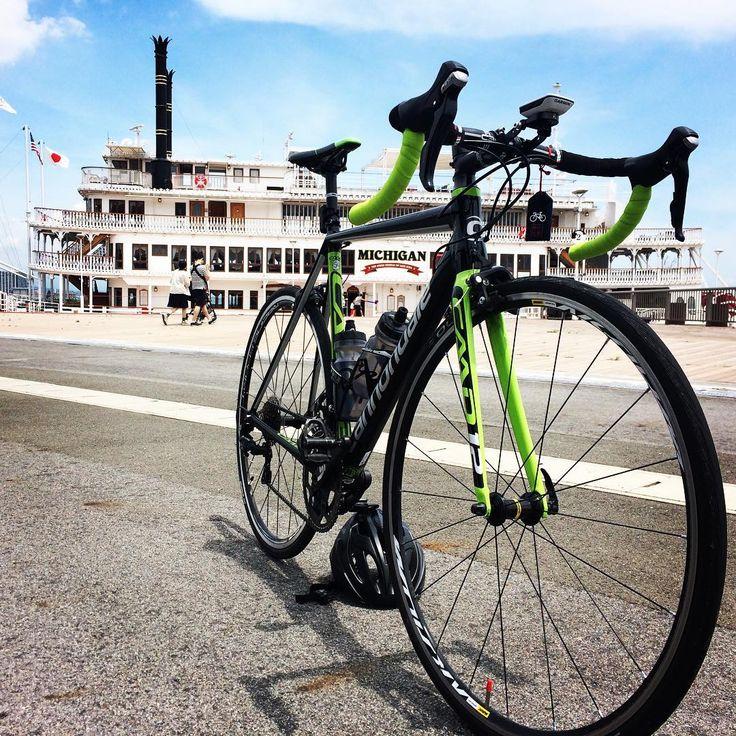 ミシガン×CAAD12 #ロードバイク #roadbike #caad12 #cannondale #キャノンデール #cycling #サイクリング #ロードバイク初心者 #ロードバイク仲間欲しい