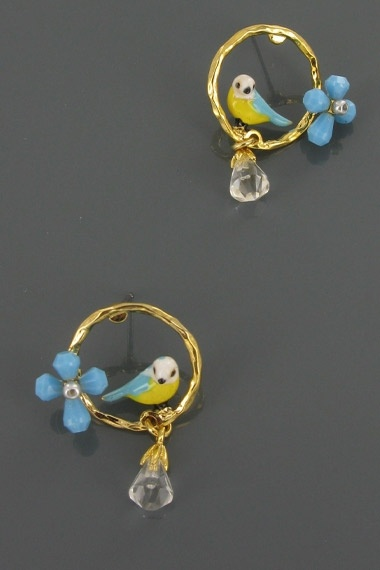 Cute birdy earrings.