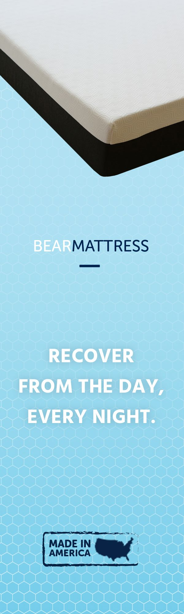 Bear Mattress Is Engineered To Offer A More Restorative Nights Sleep So You Can Be