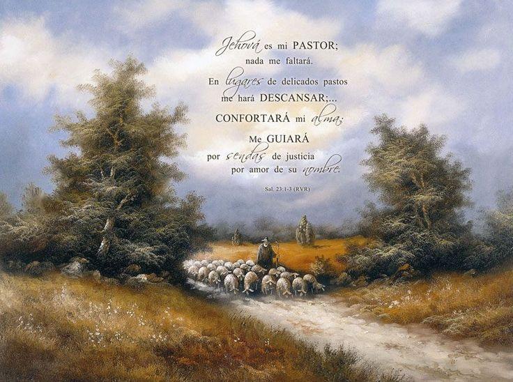 Jehová es mi pastor. Salmo 23