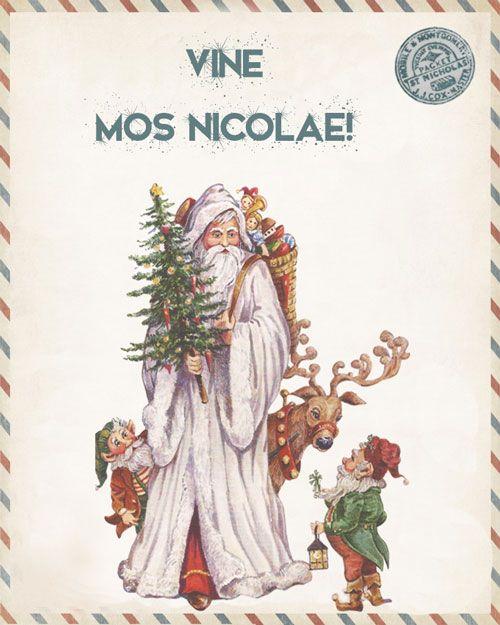 Cadouri pentru cei mici de Mos Nicolae
