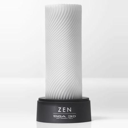 The Zen 3D by TENGA has fine ribs that are engraved around its surface for smooth pleasure. The delicate flows that climb these walls combine to create an intertwining sensation. The overall three-dimensional flow chopped fine ribs. Produce stimulation of the delicate ribs one by one while hugging the sides swell, creating a sensation by being the flux creep it. Smooth, gently wrapped Shupuru pleasure that has a sense of edge and soft finish school choice.