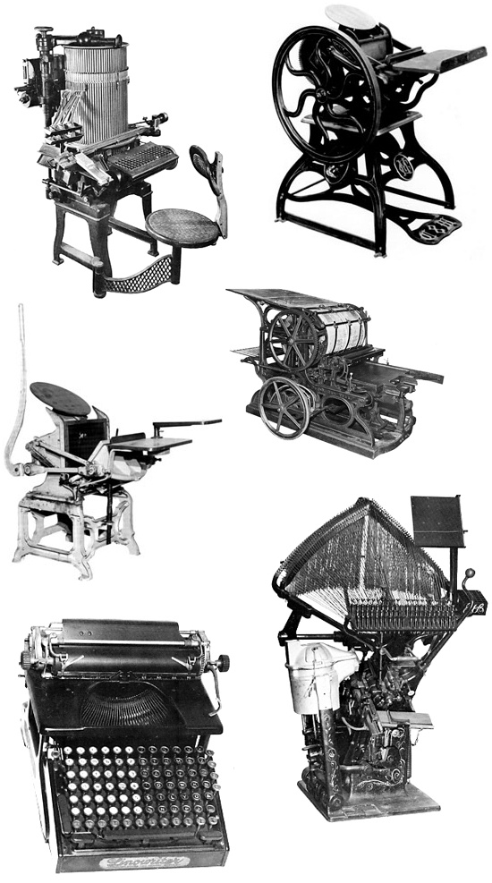 old printing presses: These are the best...I have operated three of them.